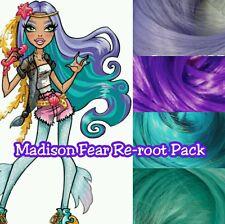Monster High Madison Fear Custom Doll Re-root Pack Nylon Hair Color Blend Kit