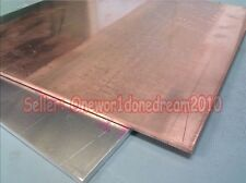 1 Piece 99.9% Pure Copper Cu Metal Sheet Plate 2mm*100mm*200mm High Purity