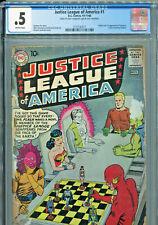 Justice League of America #1 (DC Comics 1960) CGC Certified .5