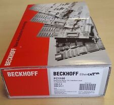 Beckhoff EtherCAT FC1100 EtherCat-Slave PC Interface Card 1-Channel PCI
