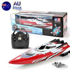 Speed boat children's toys wireless remote control boat gift red / green NEW