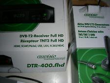 DVB-T2-Kabelreceiver Auvisio set DVB T2 full HD mit FB TOP!