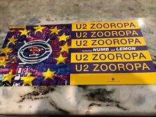 U2 2 Zooropa Promo Albim Flats Bono Edge 12in X 12in