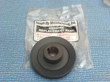 SIMPLICITY TRACTOR TURBO VAC ATTACHMENT DRIVE PULLEY 1706634 *NEW OEM PART* H-24