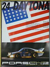 Porsche 24hr  ROLEX DAYTONA 1982 935 career RSR Genuine Factory Poster