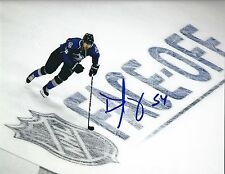 Autographed DAVID JONES Colorado Avalanche 8x10 photo - COA
