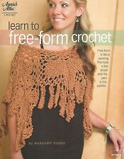 Learn to Free-Form Crochet Projects Patterns Margaret Hubert Annie's Attic NEW