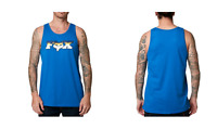 FOX racing  Canotta  uomo Slider premium tank blu