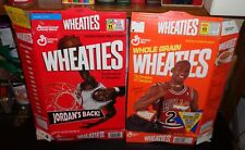 2-Different Michael Jordan 18 oz. Wheaties Empty and Flattened Boxes