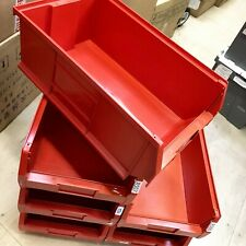 More details for barton stackable bin size 7 tc7 red colour for storage ex warehouse large size