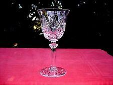 SAINT LOUIS SAMMY TOMMY WATER GLASS WASSERGLÄSER VERRE A EAU 17CM CRISTAL TAILLÉ