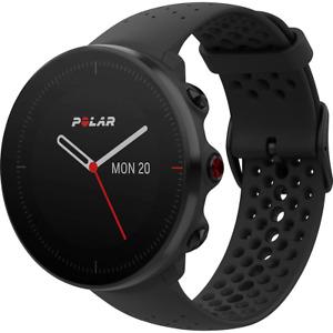 Polar Vantage M Allround-Multisport Smartwatch M/L Fitness-Uhr Schwarz