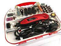 210pcs Drill Hobby Craft Mini Drill Grinder Multi tool Rotary Tool Set 135W HD01