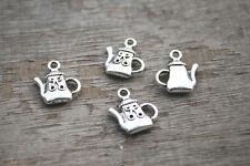 20pcs--teapot Charms Silver Tone teapot charm pendant 17x13mm