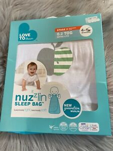 Nuzzlin Sleeping Bag 0.2 Tog 4-12 Months BNWT