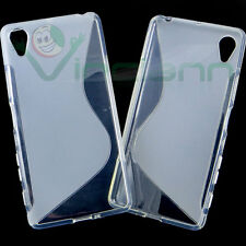 Pellicola+Custodia cover WAVE Bianca per Sony Xperia X Performance case TPU