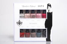 Opi Nail Lacquer Mini 10 Colors Breakfast at Tiffany's 2016 Holiday Collection