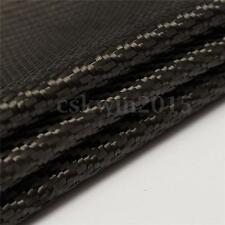 Black Carbon Fiber Cloth Fabric Plain Weave 3K 2-2 Twill Weaving 200g 1m*1m