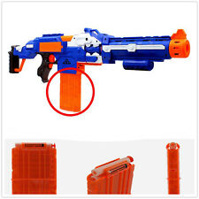 Clip Magazine 12 Replacement Bullet Darts Compatible for NERF Toy Gun ACCS