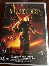 The Chronicles Of Riddick Vin Diesel Like New Dvd R4 Pal