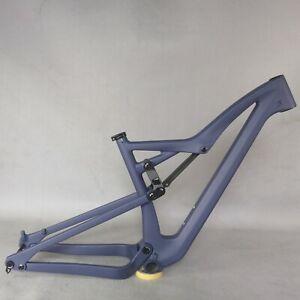 NEW Full Suspension Toray carbon fiber T800 27.5/29er Mountain frame Paint FM10