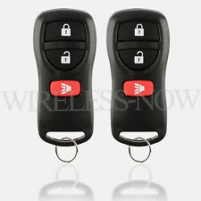 2 Replacement For 2002 2003 2004 2005 2006 2007 Nissan Pathfinder Key Fob Remote