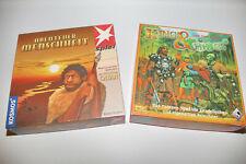 2x Die Siedler von Catan Abenteuer Menschheit KOSMOS Holz Kings & Things Pegasus