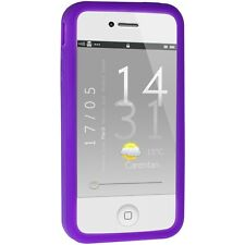 Silicone Bumper for iPhone 4 / 4S - Purple