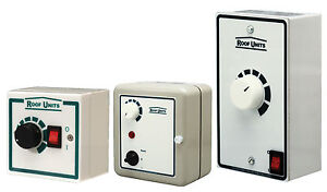 VENT AXIA ROOF UNITS 3 Amp SP5025 ELECTRONIC SPEED CONTROLLER (Not Flakt Woods)