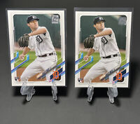 2021 Topps Series 1 baseball ROOKIE Rc #321 CASEY MIZE  Detroit Tigers LOT (2)