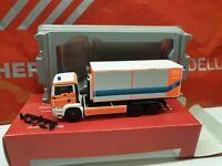 MAN TGA  Abrollbehälter AB-UMWELT. Luft Boden Wasser- Feuerwehr Wiesbaden 090179