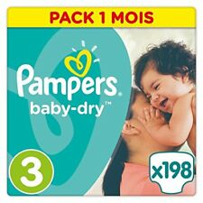 Pampers Baby Dry Taille 3 5 a 9 kg 198 couches