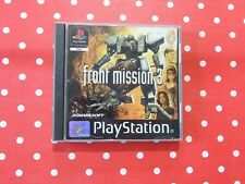 Front Mission 3 Playstation 1 PS1 PSX in OVP mit Anleitung