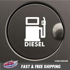 DIESEL FUEL CAP Sticker Decal 4x4 4WD Funny Ute #6817EN