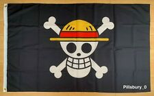 One Piece Luffy's Straw Hat Pirate 3x5 ft Flag