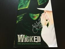 Wicked The Musical SIGNED UK TOUR Brochure Ashleigh Gray