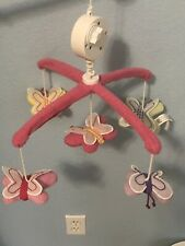 Pottery Barn Kids Butterfly Musical Crib Mobile Without Arm New Without Box