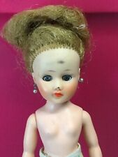 Vintage Horsman Cindy Girl Doll Stands On Her Tippy Toes Sleepy Eyes