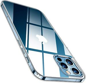 Case For iPhone 12 Pro Max 12 Pro Clear Transparen Shockproof Cover Gel Silicone