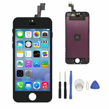 Black LCD Screen Touch Digitizer Assembly Replacement for iPhone 5s A1530 A1533