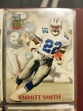 Emmitt Smith 1992 Pro Set Power PREVIEW Card # NNO Dallas Cowboys Football HOF