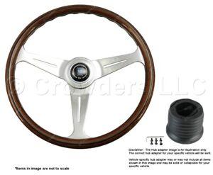 Nardi Classic 390mm Steering Wheel + Hub for Ford Bronco 5061.39.3000 + .8501