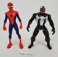Marvel Spider-Man 2017 Hasbro and Venom 1994 Toy Biz Action Figure Lot of 2