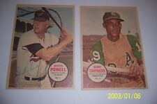 1967 Topps Poster OAKLAND A's BERT CAMPANERIS #2/32 Please See Others I Have