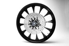 "Black 21"" Front Harley Davidson Wheel for 14-17 Road Glides no/ABS"