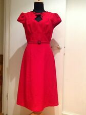 Stop Staring Red Vintage Style Dress M