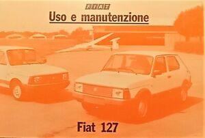 Libretto Uso e Manutenzione - FIAT 127 - 1982