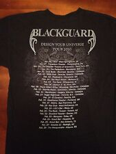 BLACKGUARD 2010 Tour Shirt Folk Metal, Finntroll, Turisas, Ensiferm, Alestorm