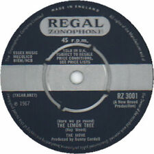 "Flowers In The Rain - 4pr Move UK 7"" vinyl single record RZ3001"