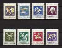 15808) Yougoslavie 1960 MNH Neuf Olympic Games Rome 8v